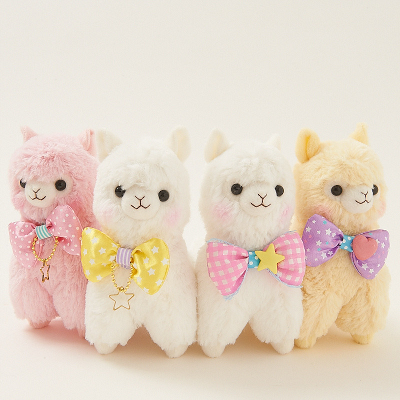 Alpacasso Ribbon Collection Alpaca Plush Collection