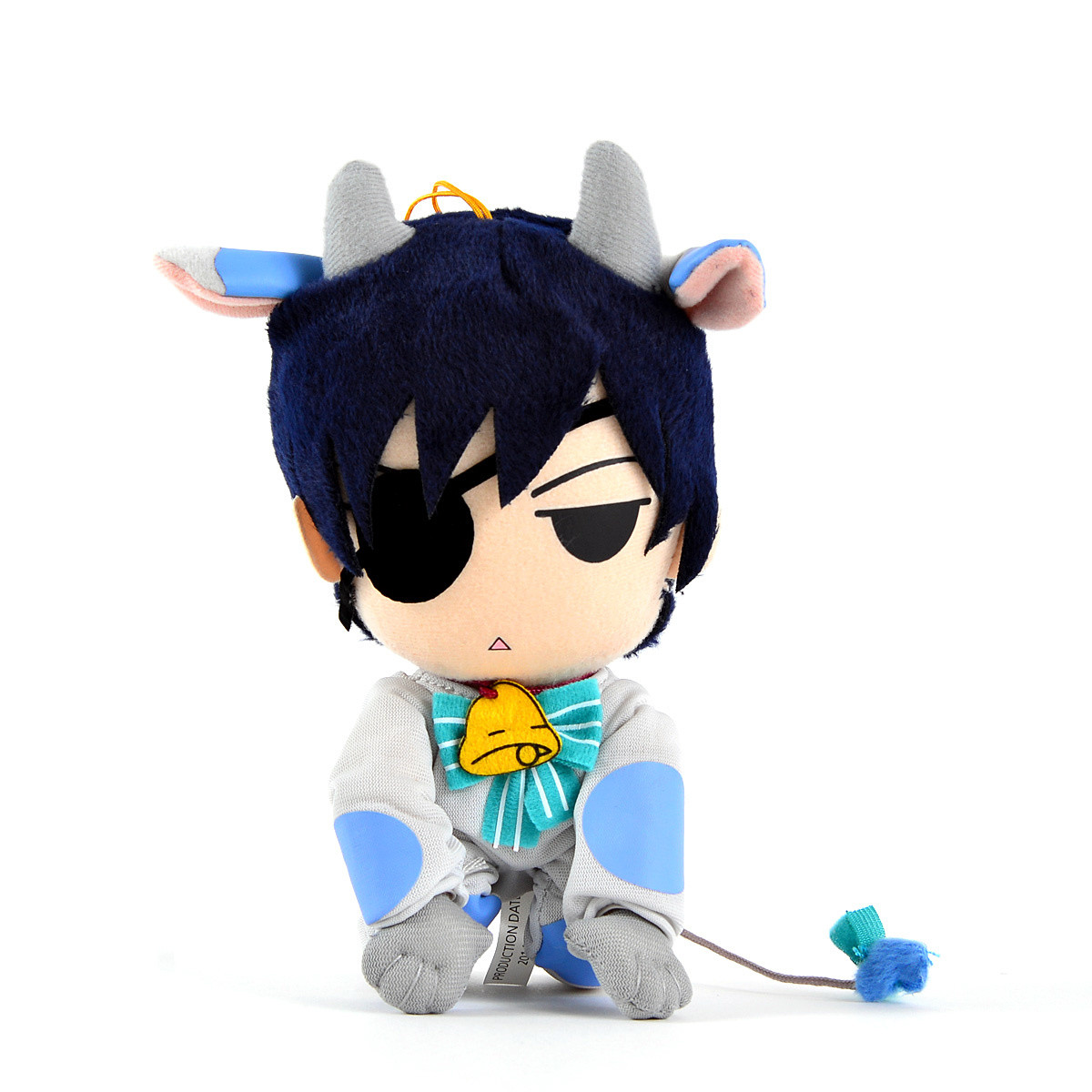"Black Butler Ciel Cow Cosplay 7.5/"" Plush"