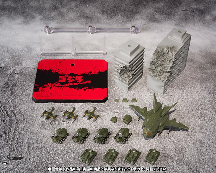 S H Monsterarts Toho Ultimate Weapon Set 2 Tokyo Otaku