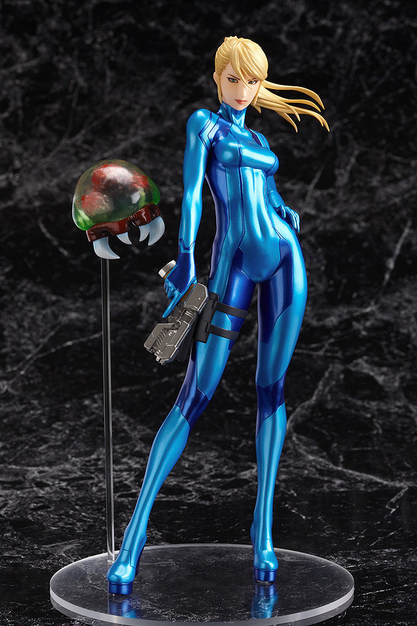 Samus Aran Zero Suit Ver 1 8 Scale Figure Re Run
