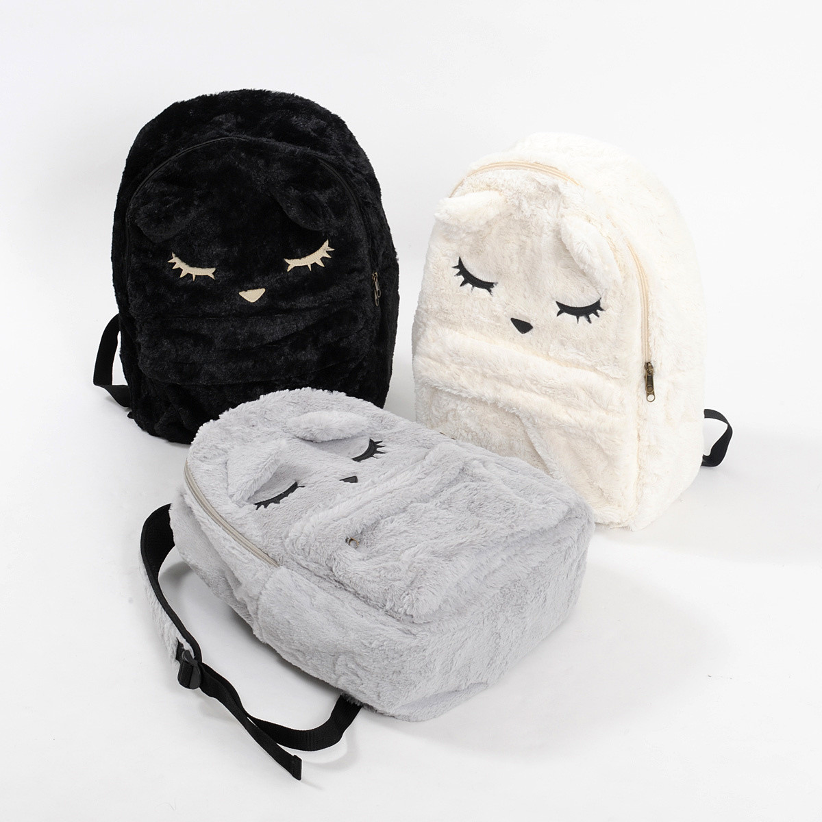 360826500959 Osumashi Pooh-chan Furry Backpack