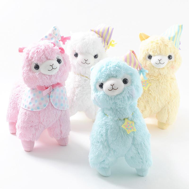 alpacasso goodnight alpaca plush collection  big