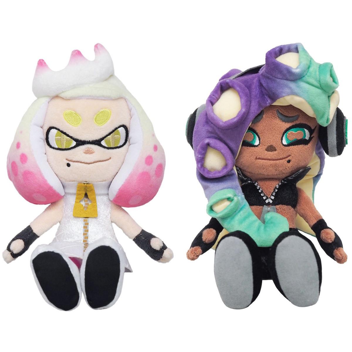 "10/"" F//S Track Sanei SP03 Splatoon Series Callie Pink Squid Sister Stuffed Plush"