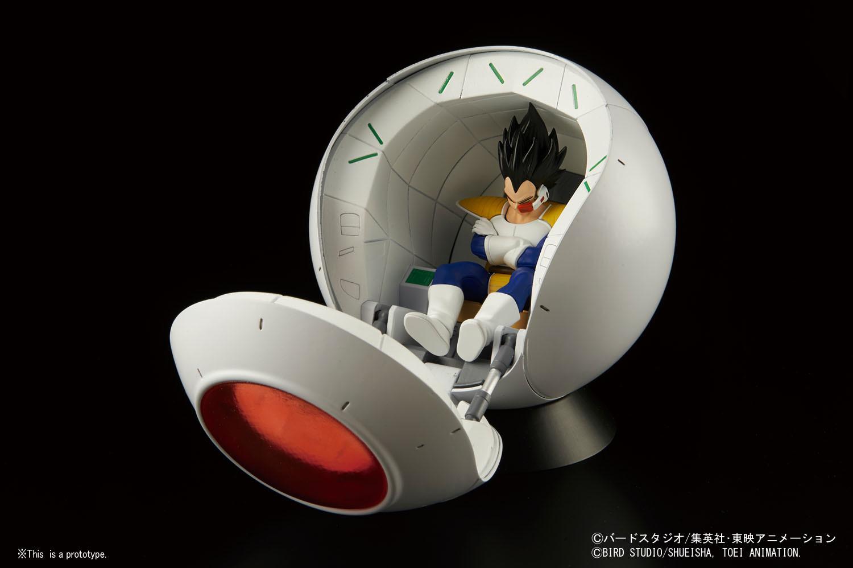 Figure Rise Mechanics Dragon Ball Z Saiyan Space Pod