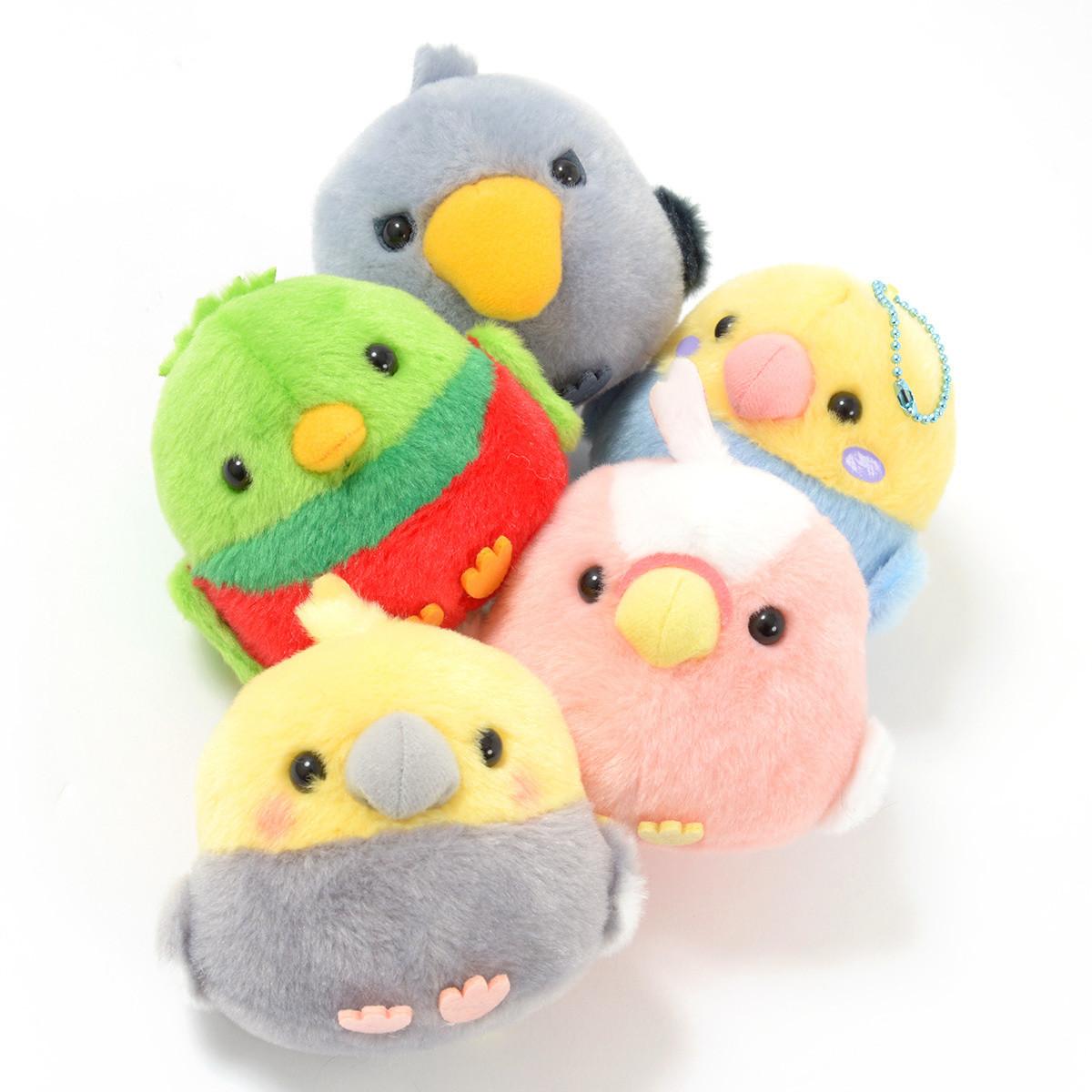 Kotori Tai Ureshii Bird Plush Collection Ball Chain