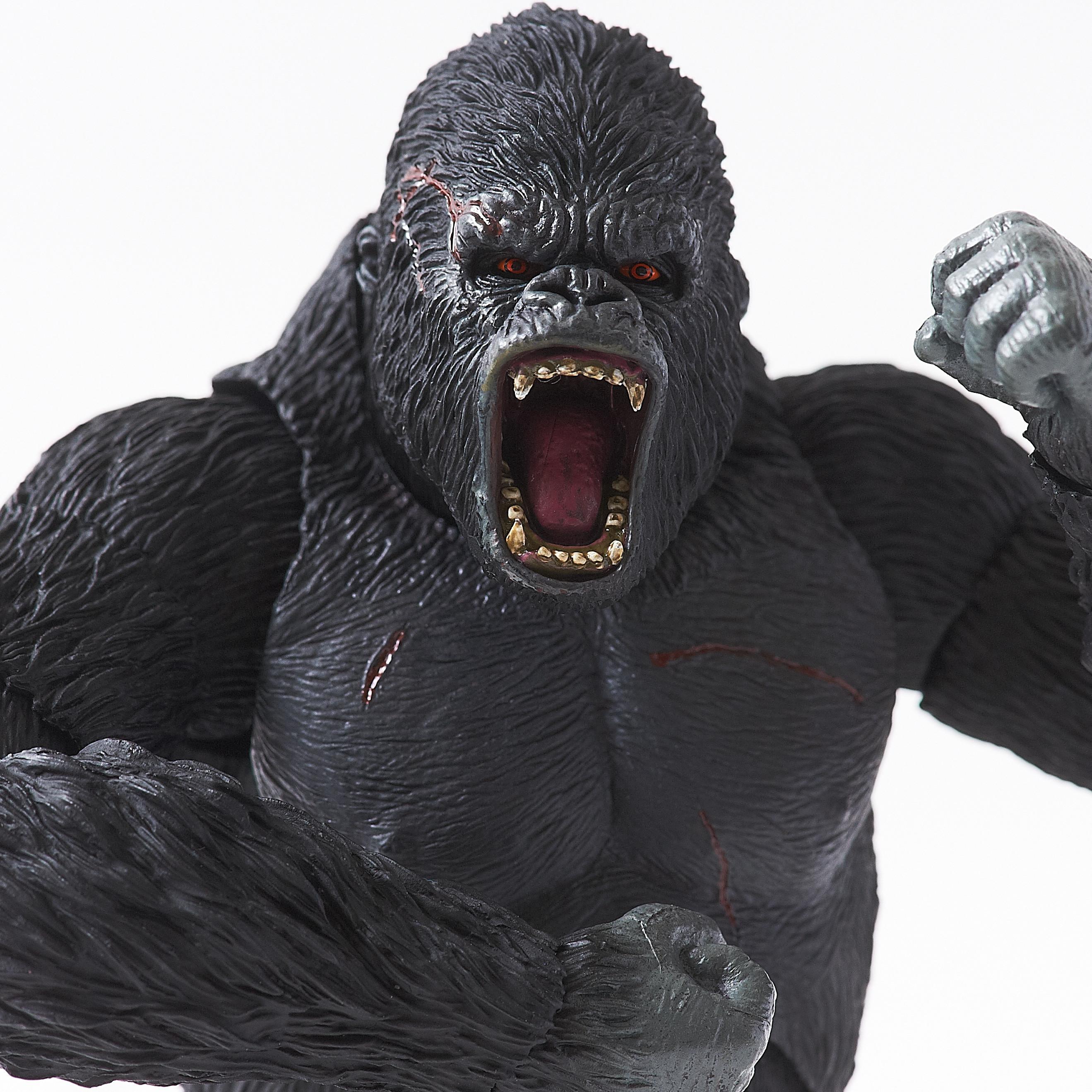 s h monsterarts king kong figure