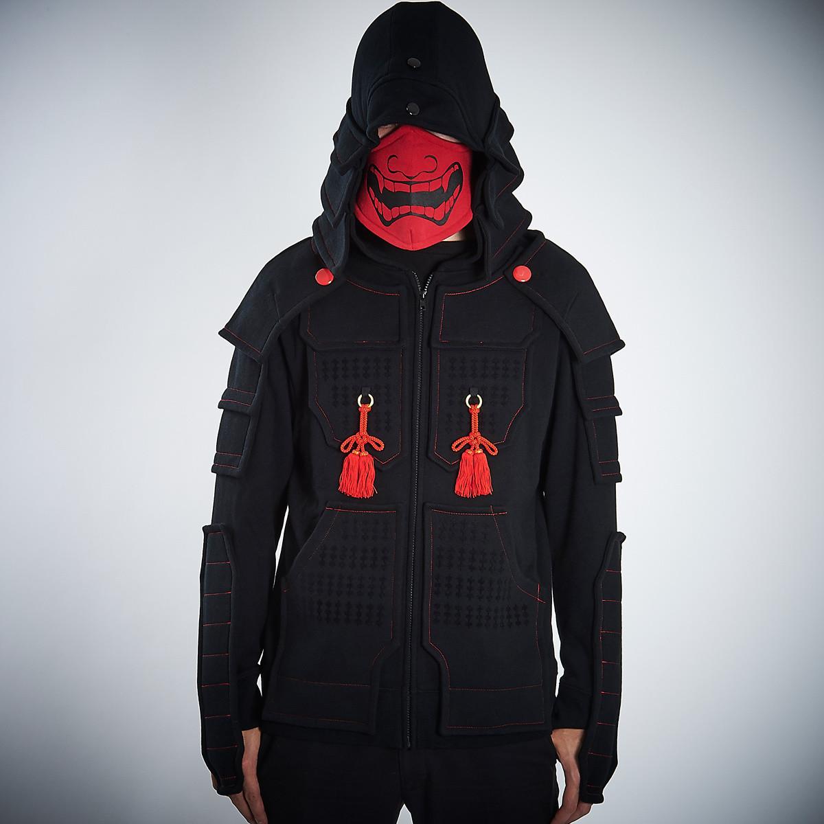 Samurai Armor Hoodie Set <Black>  64fcbe88b67b