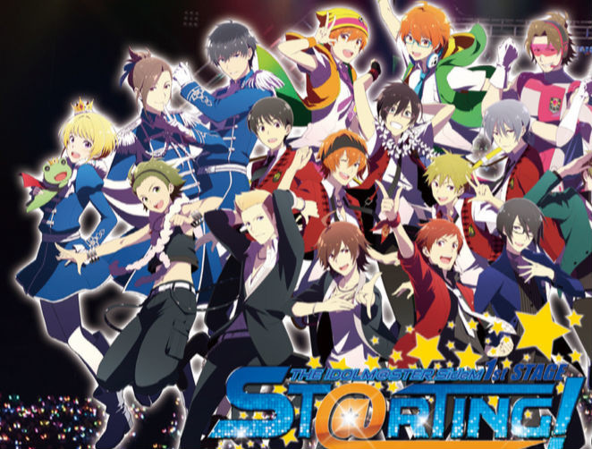 The Idolm Ster Sidem 1st Stage St Rting Live Blu Ray