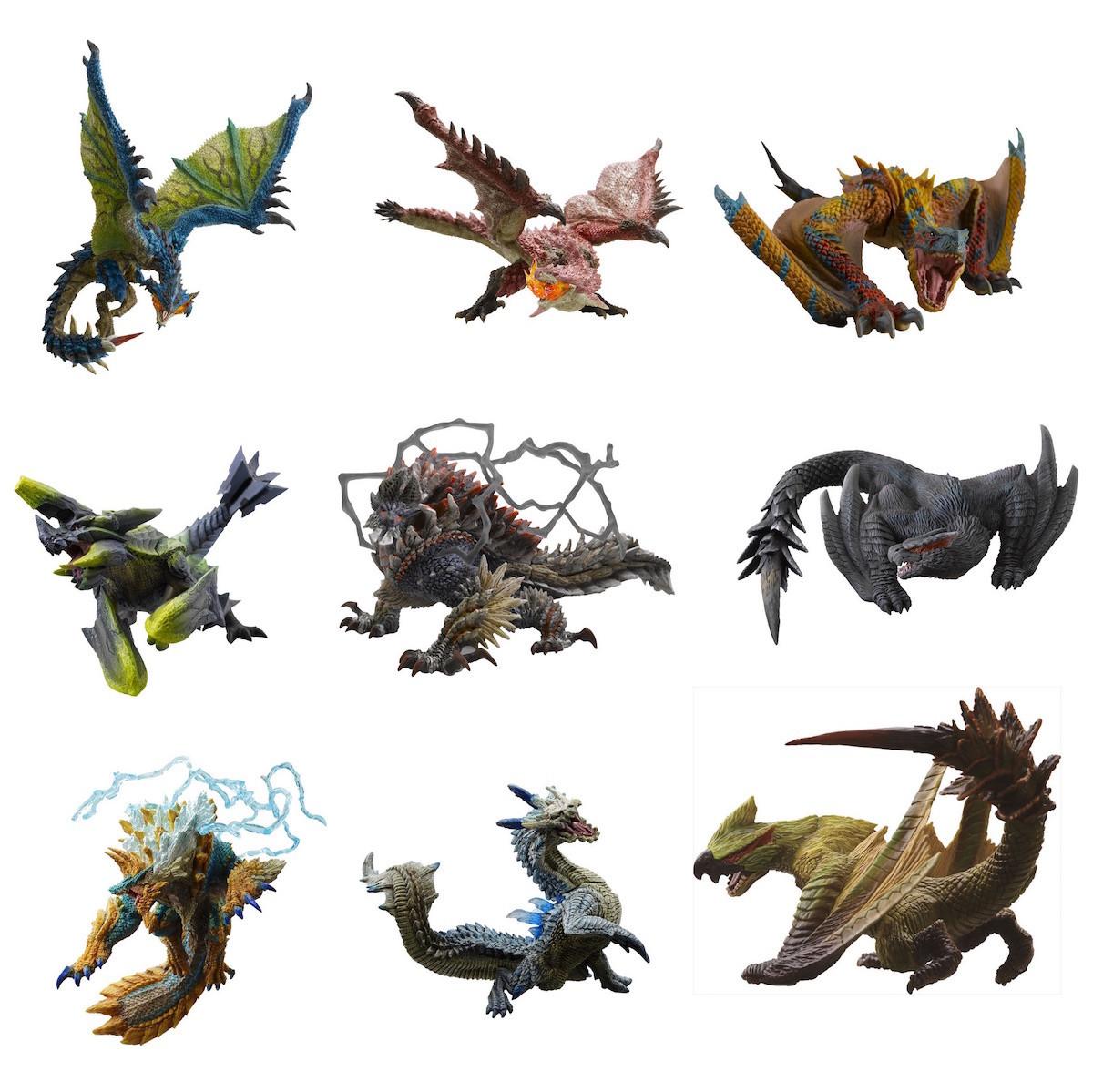 Capcom figure builder monster hunter standard model anger for Decorations monster hunter world