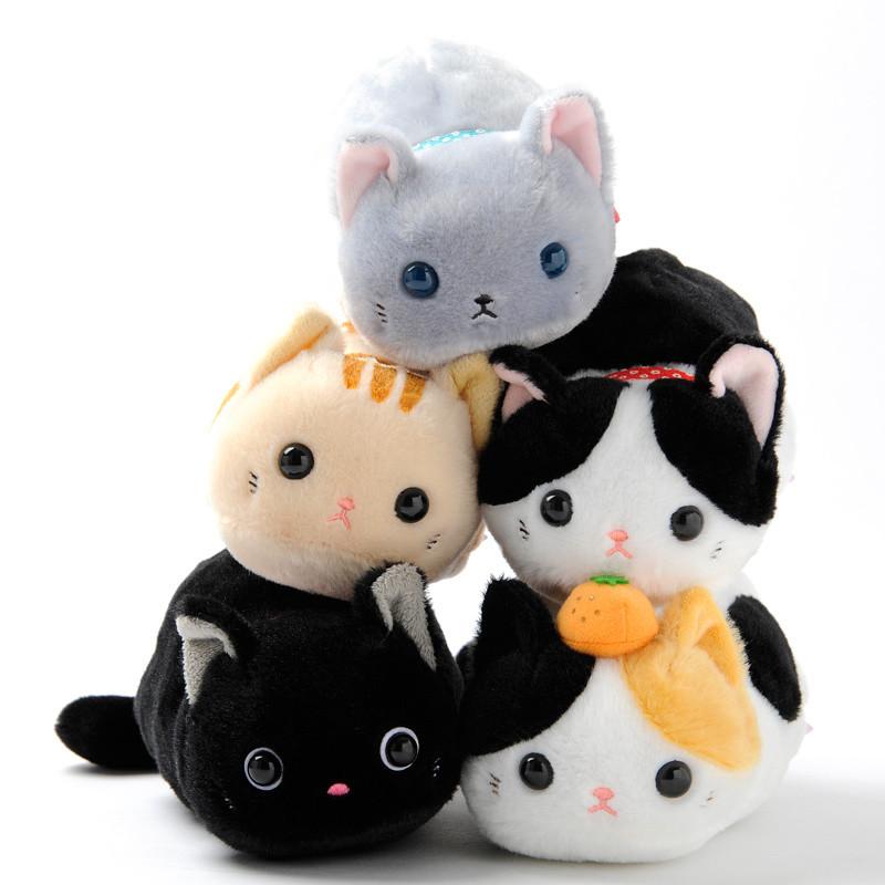 Tsuchineko Wagokoro Cat Plush Pouches Tokyo Otaku Mode Shop