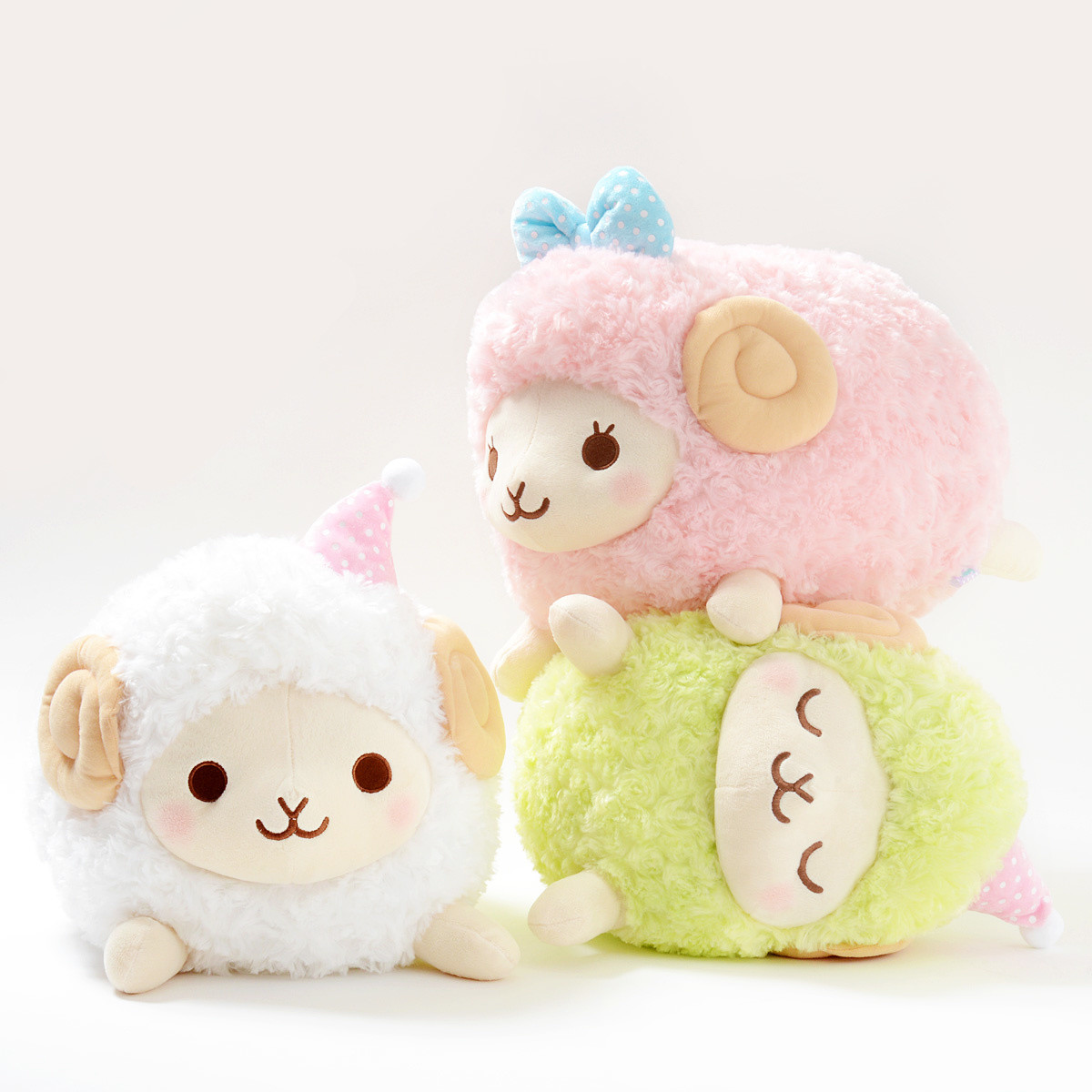Dreamy Wooly Sheep Plush Collection Big Tokyo Otaku