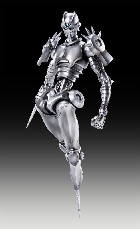 Super Action Statue Silver Chariot Hirohiko Araki Color