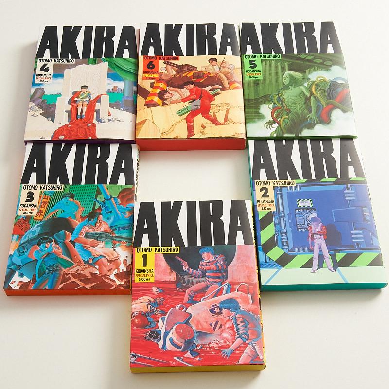 Akira Manga Volumes 1 6 Set Tokyo Otaku Mode Shop