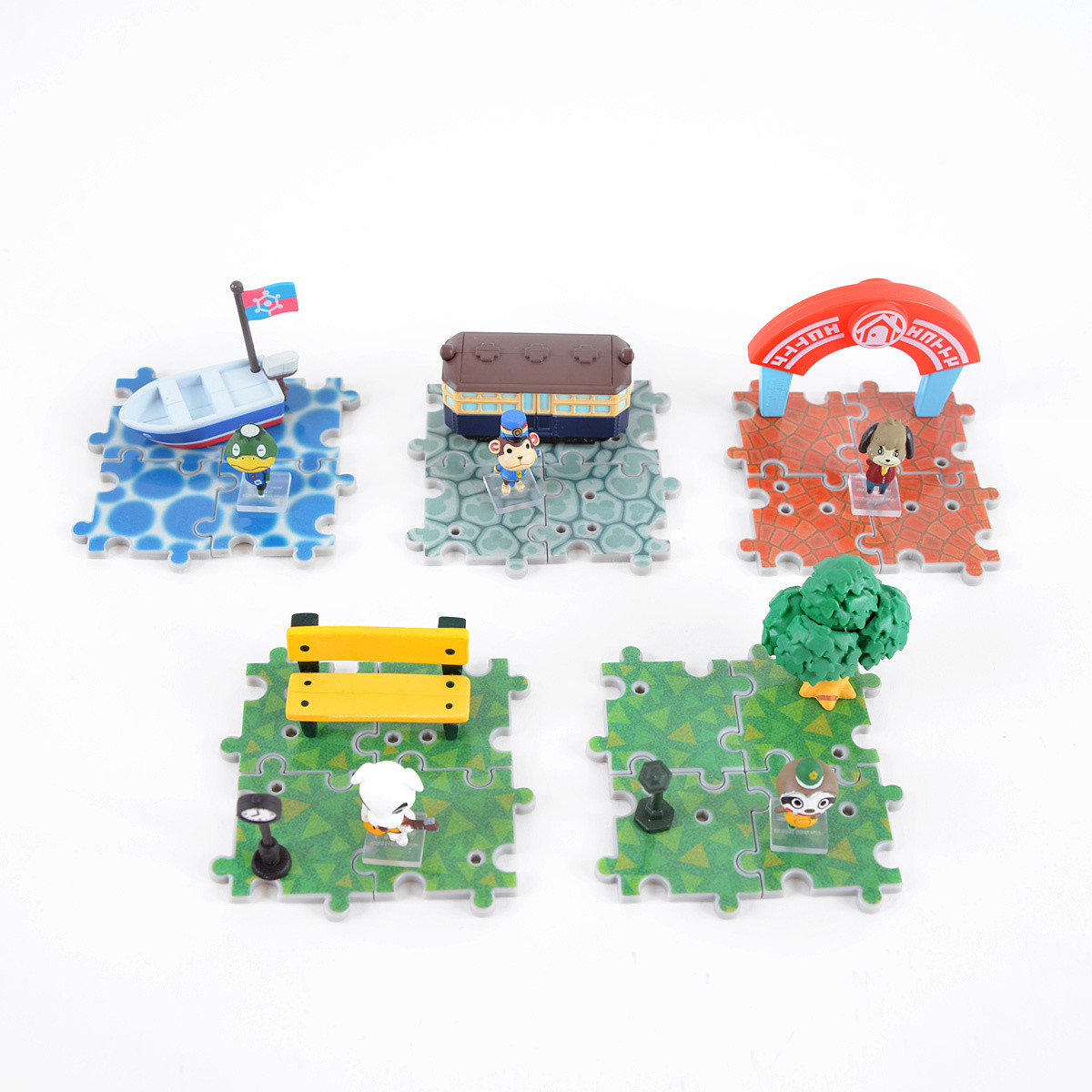 Animal crossing new leaf outing collection set of 5 for Agrandissement maison animal crossing new leaf
