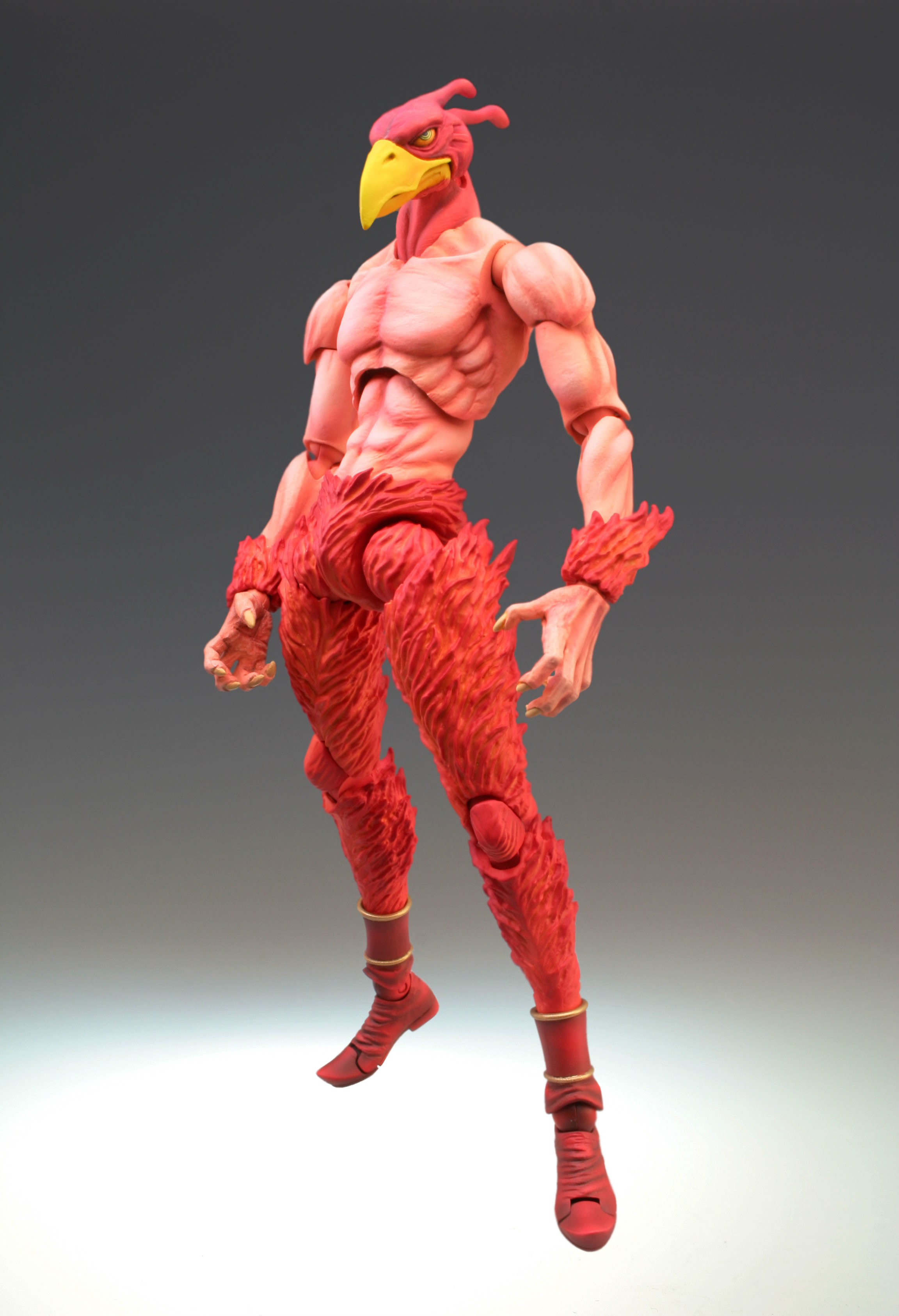 Super Action Statue Magician S Red Hirohiko Araki Color