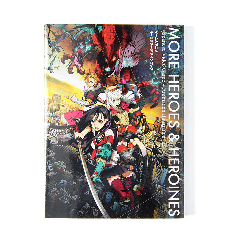 Game Character Design Books : More heroes and heroines game anime character design
