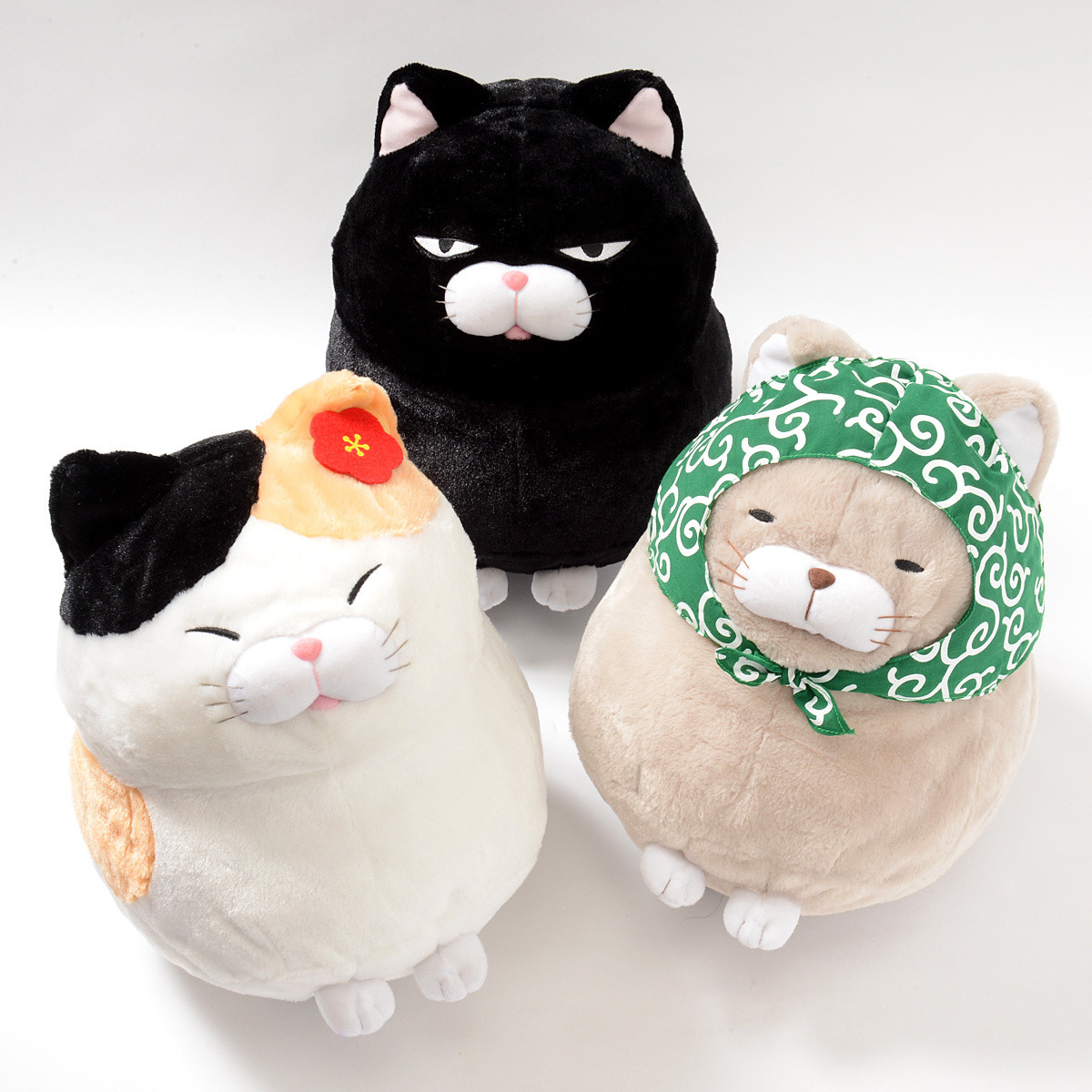 Hige Manjyu Fuku Cat Plush Collection Big Tokyo Otaku