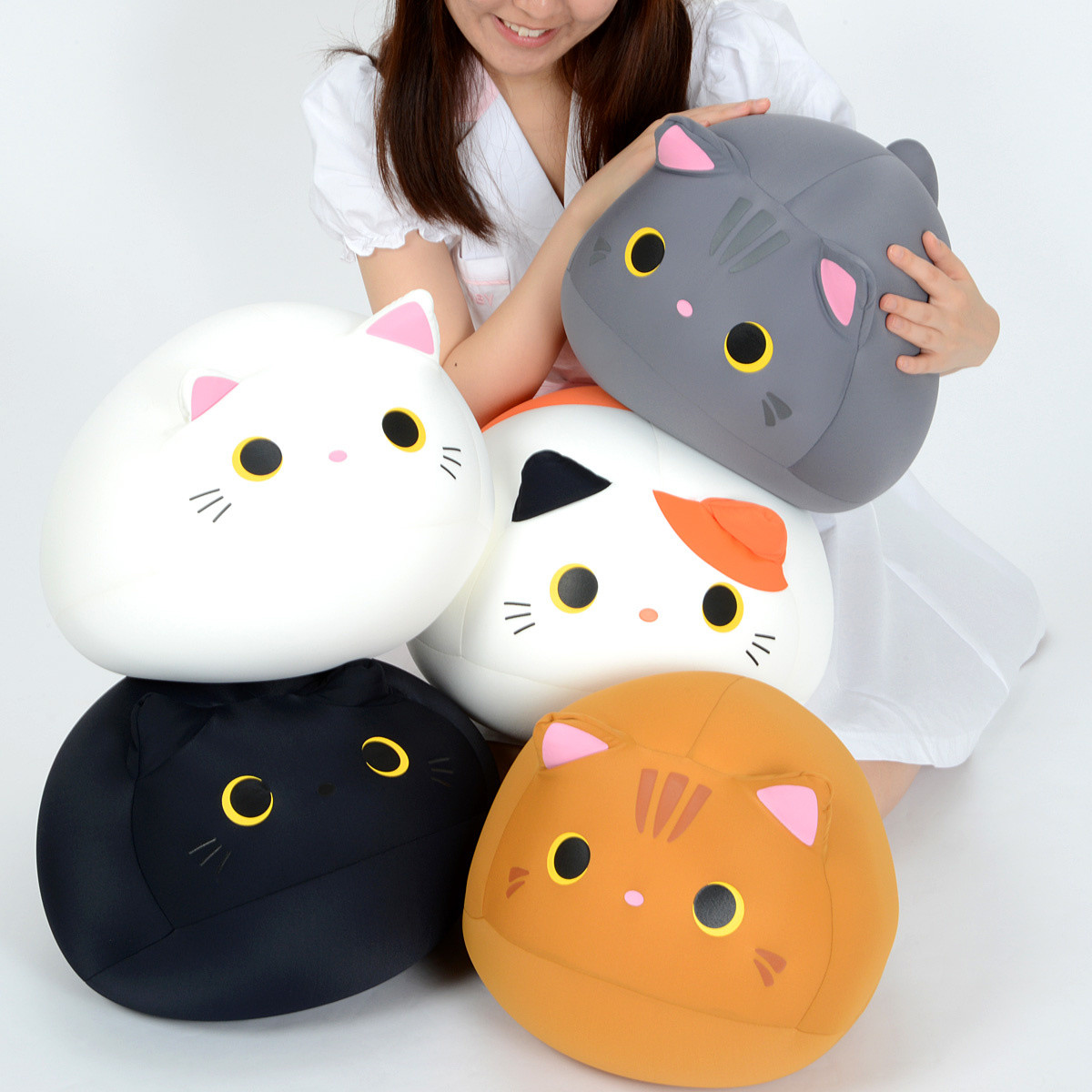 Mogucchi Miitan Beanbag Cushion Plush Collection Tokyo