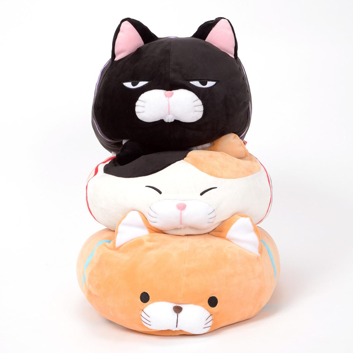 Tsumeru Mochikko Hige Manjyu Cat Plush Collection Big