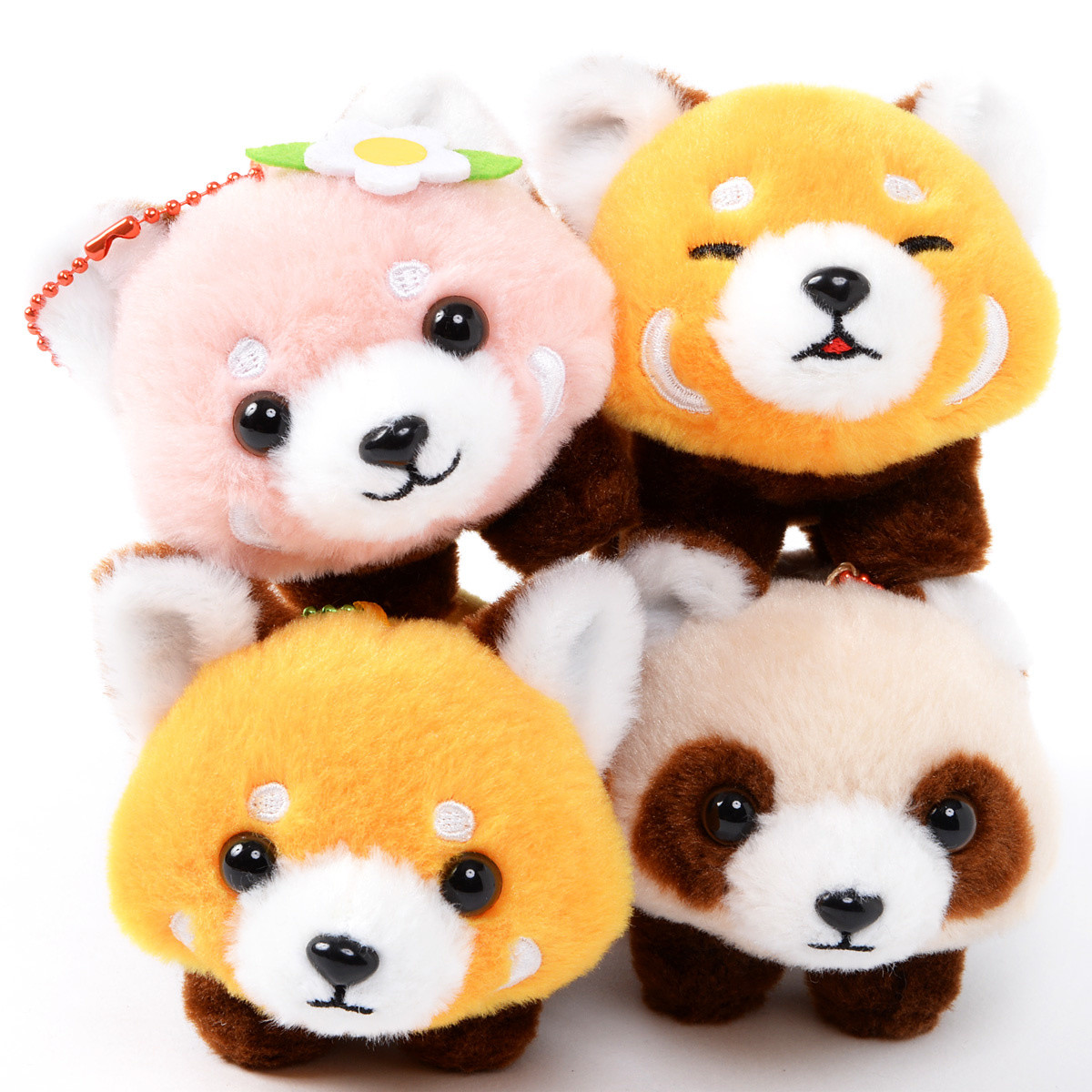 Lesser Panda Chan Yochi Yochi Red Panda Plush Collection Ball Chain