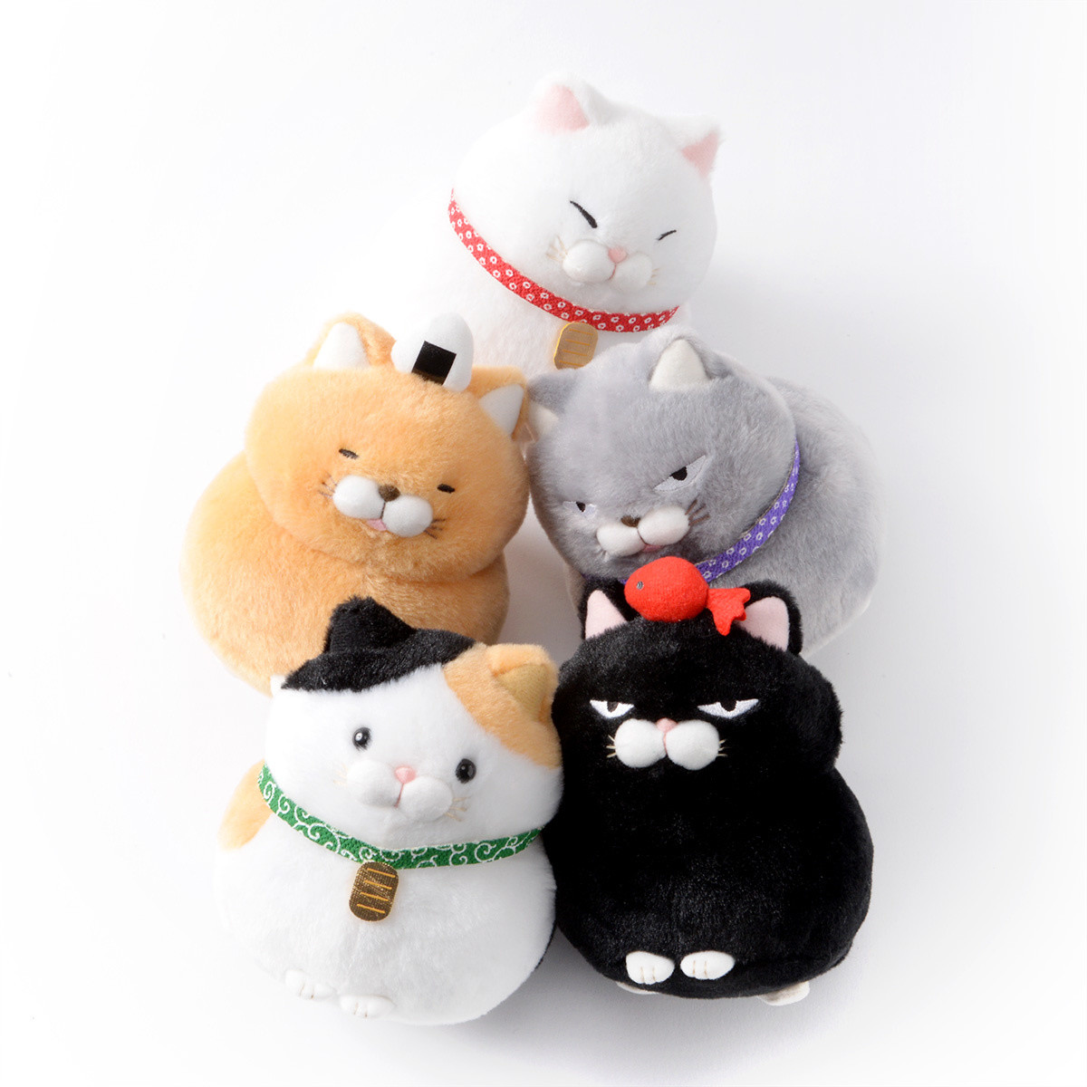 Hige Manjyu Wa Cat Plush Collection Standard Tokyo