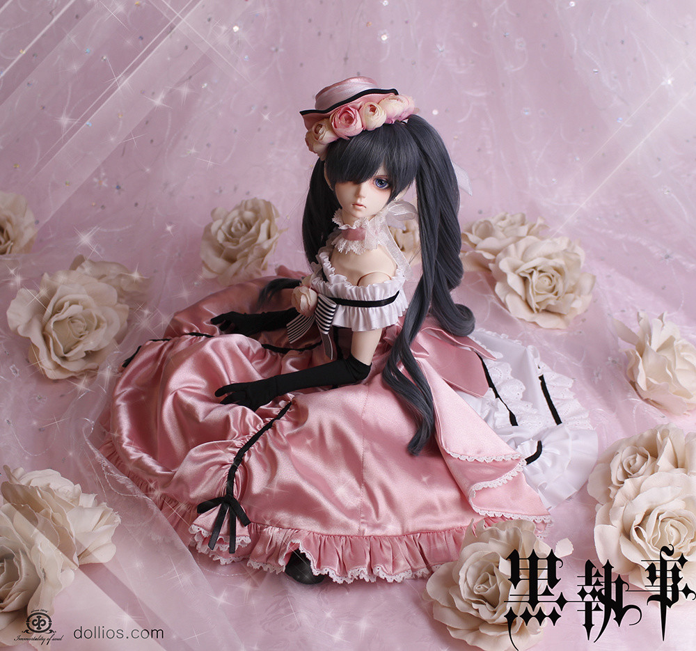 Black Butler Ciel Phantomhive Cast Doll Erithacus Dress