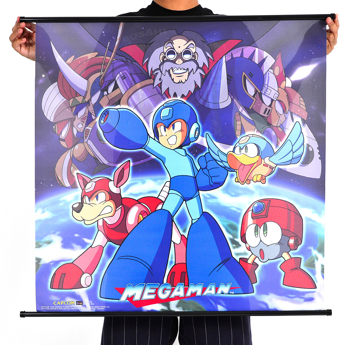 Mega Man Classic Wall Scroll Poster Tokyo Otaku Mode Shop