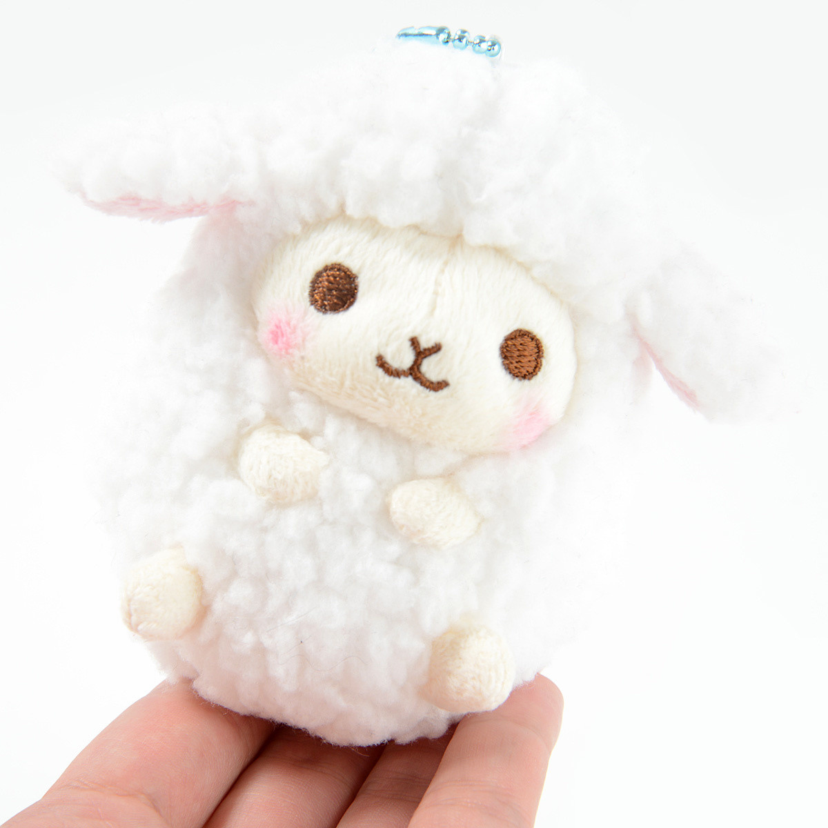 Wooly Baby Sheep Plush Collection Ball Chain Tokyo