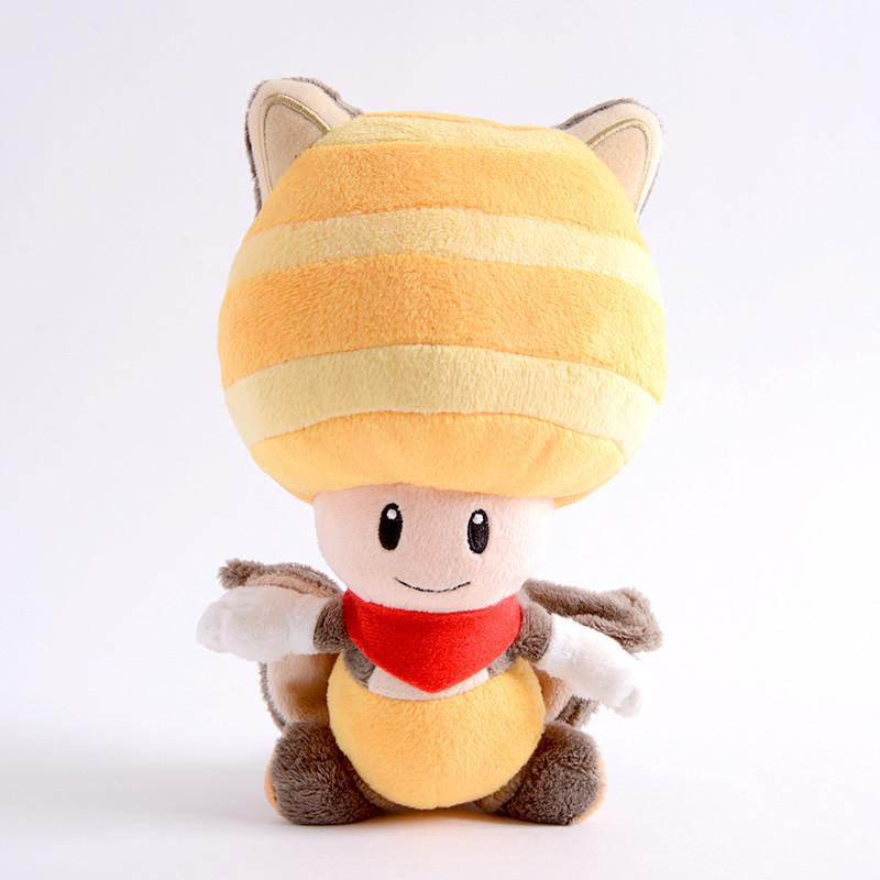 Flying Squirrel Toad Plush Super Mario Tokyo Otaku