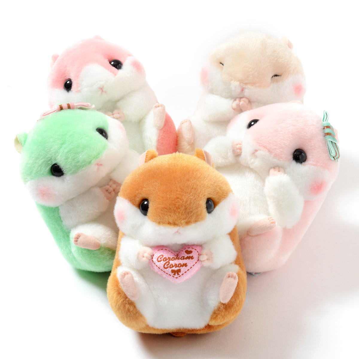 Coroham Coron Cutie Hamster Plush Collection Standard