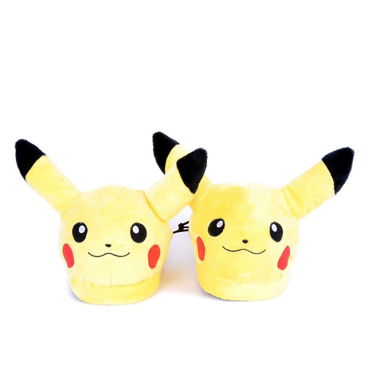 Pikachu Pokemon Plush Slippers