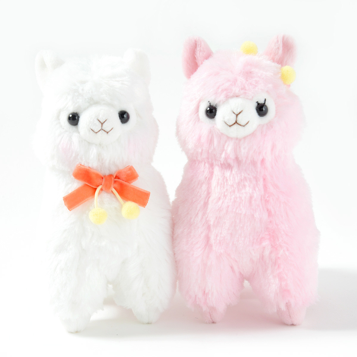Alpacasso Velvet Ribbon Alpaca Plush Collection Standard