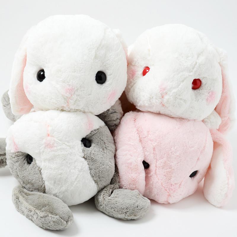 pote usa loppy sleepy rabbit plush collection big tokyo otaku