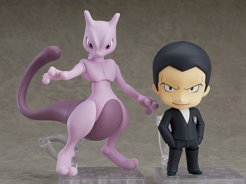 make way for the great giovanni and mewtwo as nendoroids tokyo