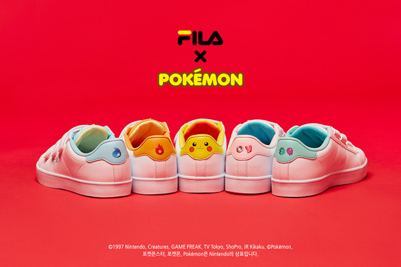 b8a377d1002 Fila Korea Collaborates with Pokémon For Pokémon Master-Worthy Sneakers!