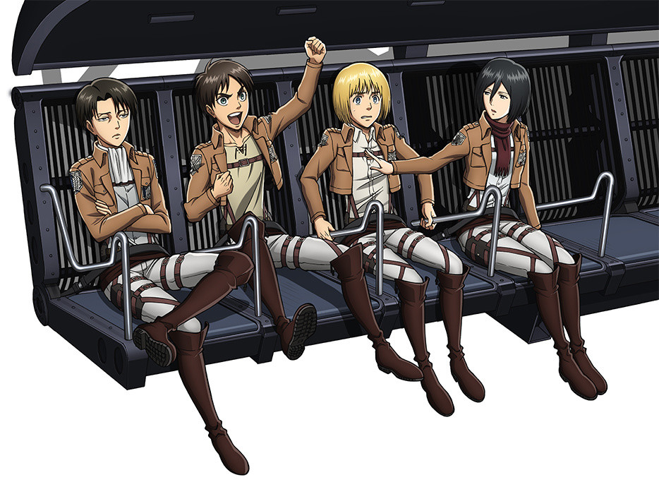 Titans Hit The Highlands Attack On Titan Ride Arrives At Fuji Q 2