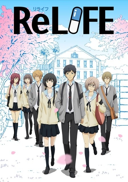 ReLIFE's 4-Episode Conclusion to be Released on Blu-Ray & DVD!