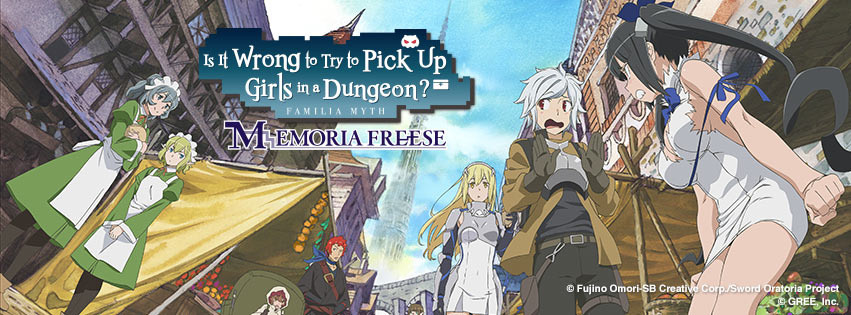 Danmachi Mobile Game Soon to be Available in English