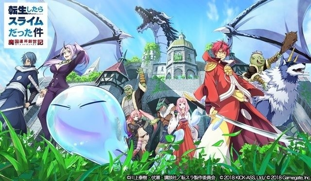 That Time I Got Reincarnated as a Slime Launches Mobile RPG