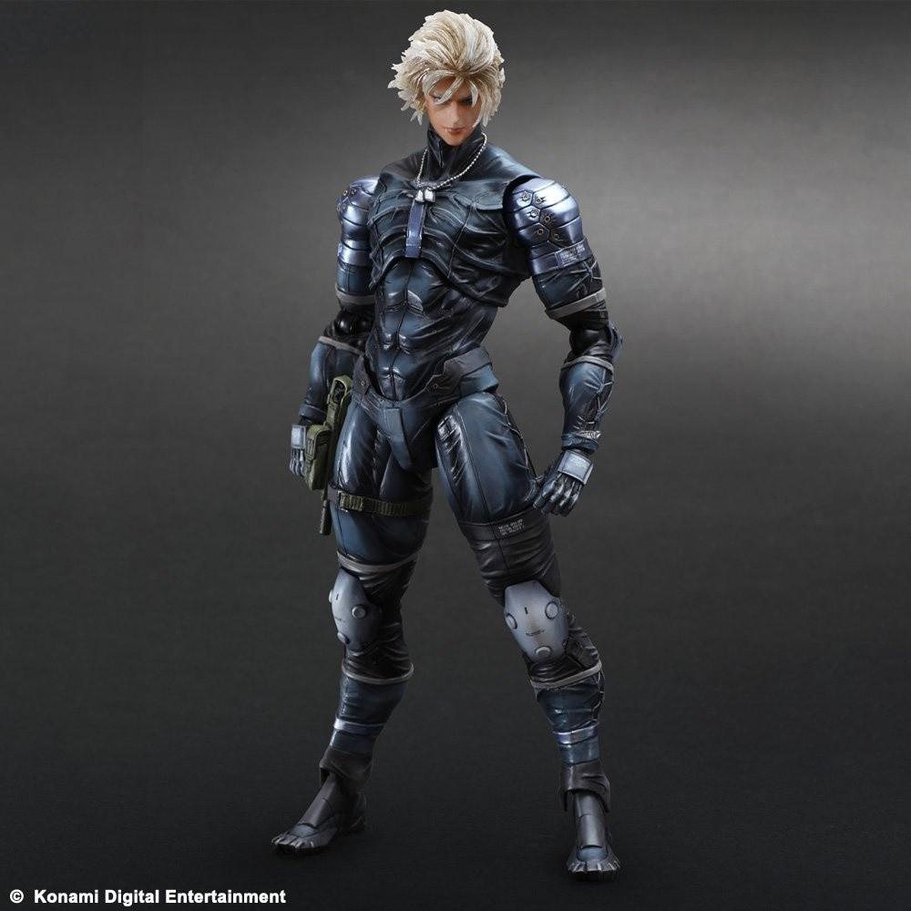 Metal Gear Solid 2 Play Arts Kai Raiden Tokyo Otaku