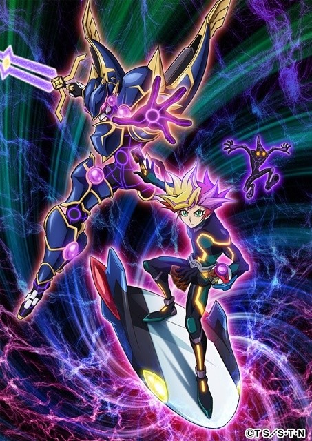 Gear Up for New Yu-Gi-Oh! Anime with More Details & Visuals on Protagonist Fujiki Yusaku!