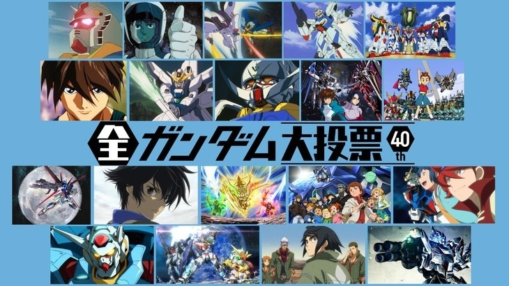 Mobile Suit Gundam Favorites Chosen in 40th Anniversary Poll