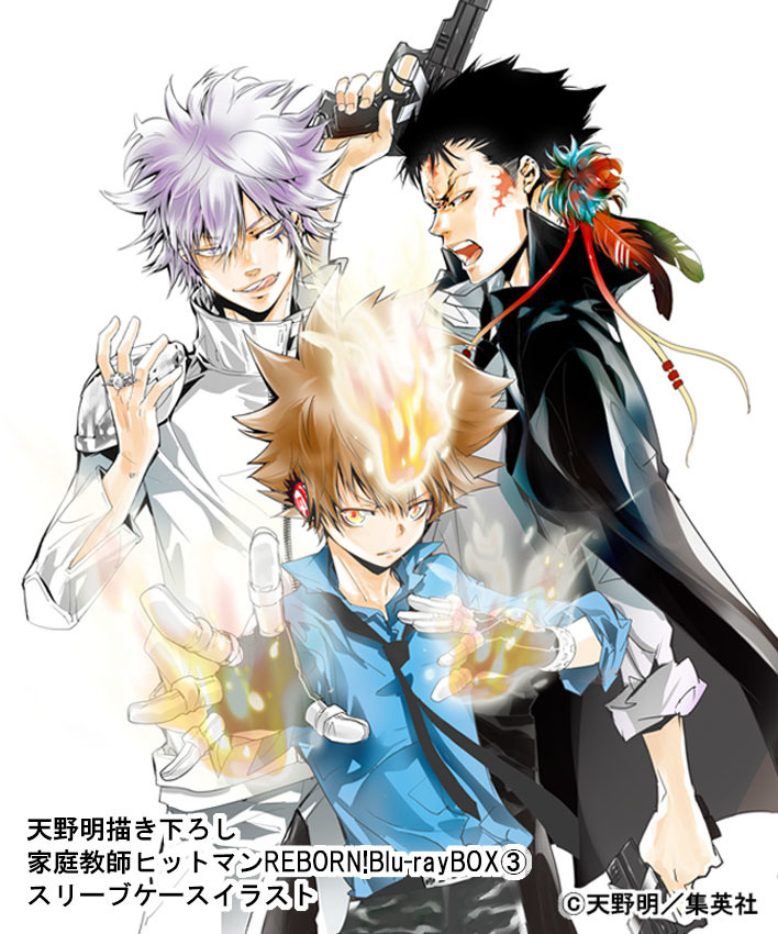 Reborn! Blu-ray Box Vol. 3 Illustrations Revealed!