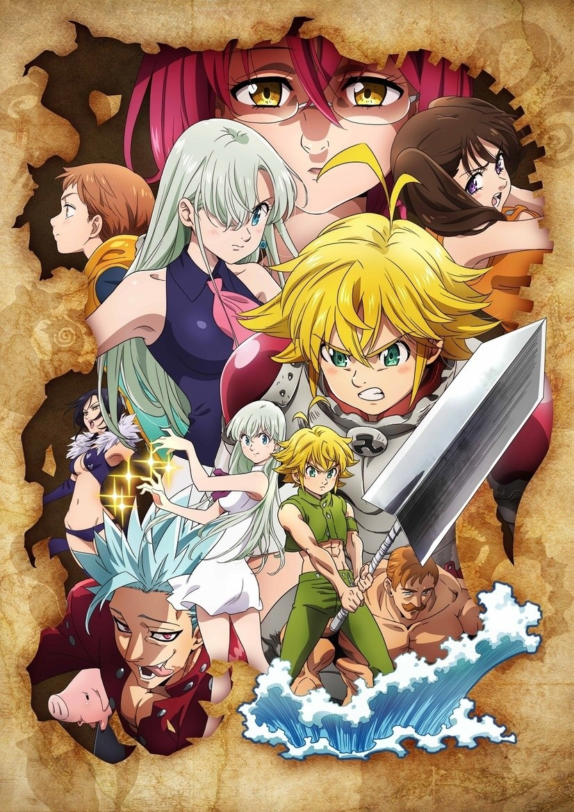The seven deadly sins gets new anime season for autumn 2019