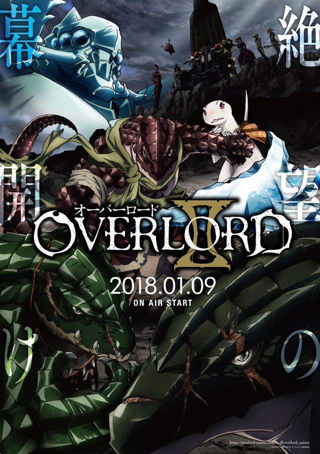 Overlord II TV Anime Releases New Trailer Featuring Opening Theme 3