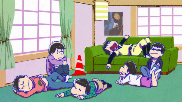 Osomatsu-san Brothers Hang Out in New Season 2 PV!