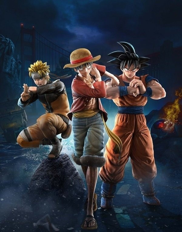 Meet the Heroes of Shonen Jump Fighting Game JUMP FORCE!