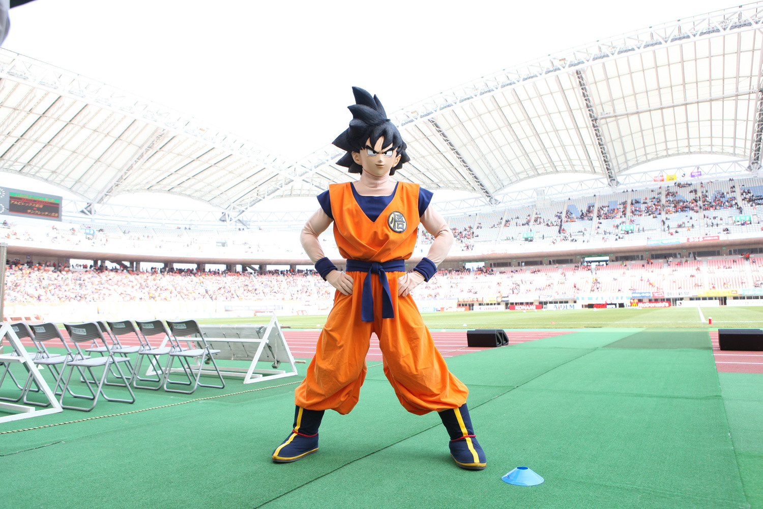 """Soccer Team And """"Dragon Ball Z"""" Team Up In Powerful"""