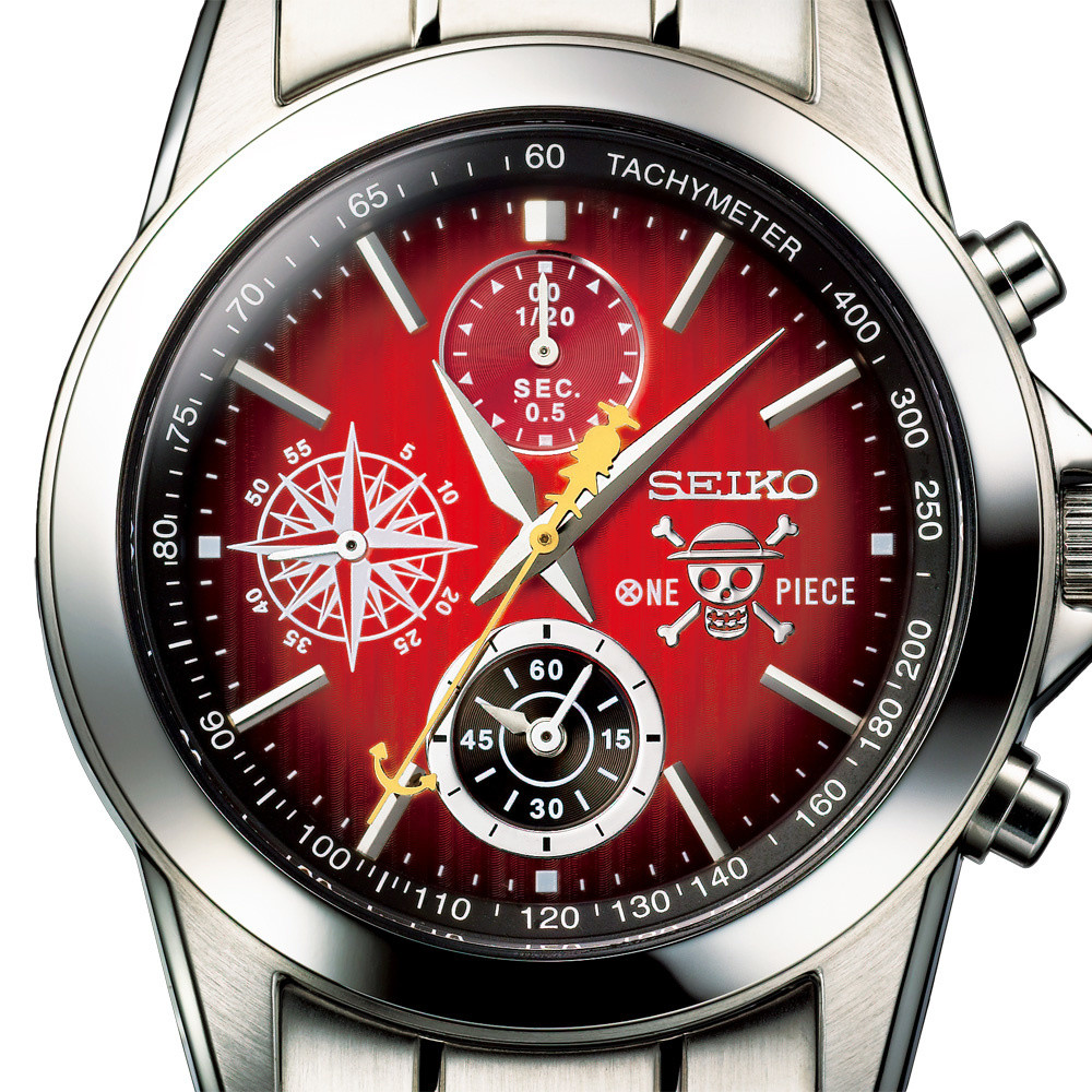 One Piece Teams Up with Seiko for 20th Anniversary Watch!   Tokyo Otaku Mode News