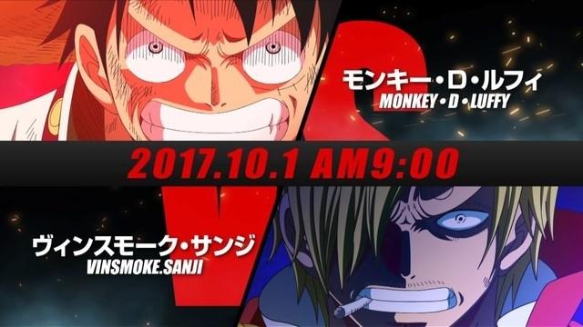 One Piece Luffy vs. Sanji Fall Special Reveals 3rd PV!